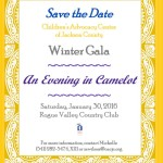Children's Advocacy Center, Save the Date Winter Gala, 2016